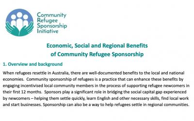 Economic, social and regional benefits of sponsorship (2020)