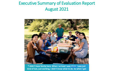 Evaluation of our pilot program now available